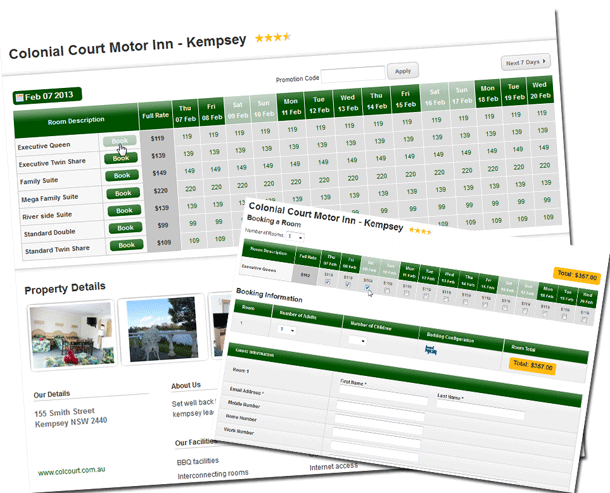 Book Accommodation Online and Save - Colonial Court Motor Inn - Kempsey